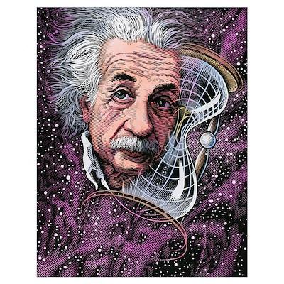 Albert Einstein, German physicist Poster