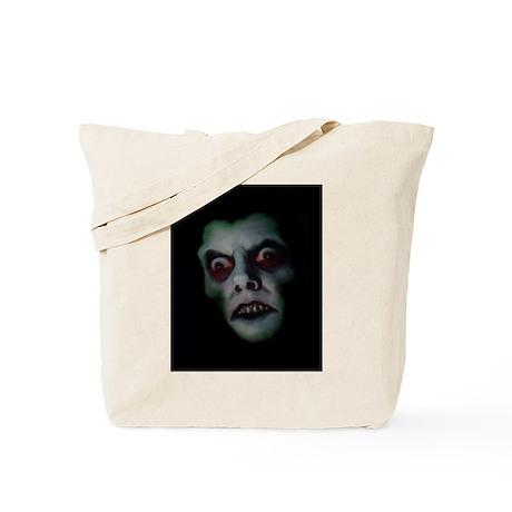 Haunted Demon Face Tote Bag