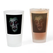 Haunted Demon Face Drinking Glass