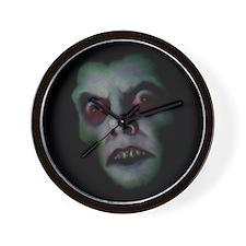 Haunted Demon Face Wall Clock
