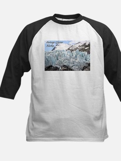 Portage Glacier, Alaska (with caption) Tee