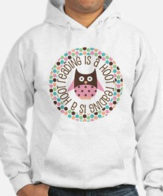 Reading Is A Hoot Hoodie
