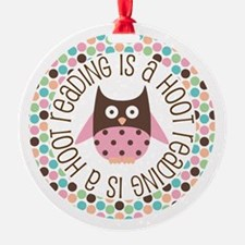 Reading Is A Hoot Ornament