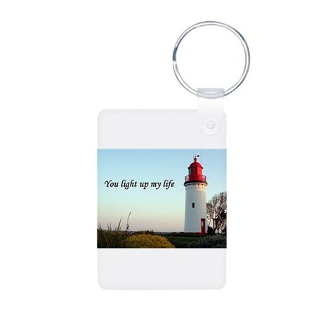 You light up my life Aluminum Photo Keychain