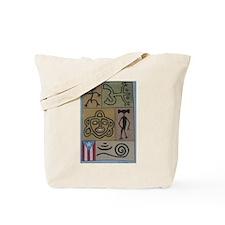 Taino Petroglyphs Tote Bag