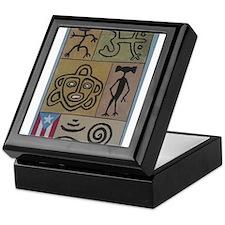 Taino Petroglyphs Keepsake Box