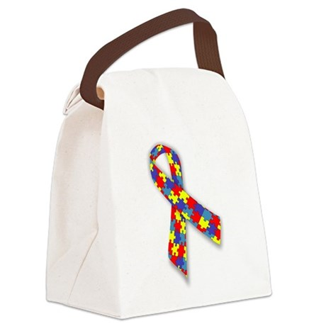 AutismAwareness.png Canvas Lunch Bag