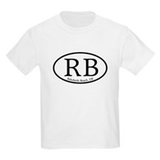 RB Rehoboth Beach Oval T-Shirt