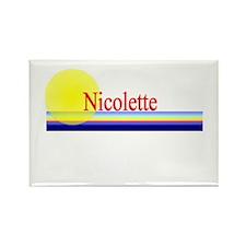 Nicolette Rectangle Magnet