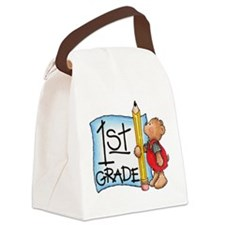 FirstGrade.gif Canvas Lunch Bag