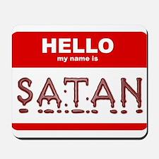 satan.png Mousepad