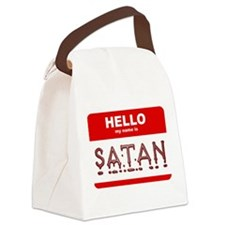 satan.png Canvas Lunch Bag