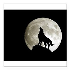 "wolf8.jpg Square Car Magnet 3"" x 3"""