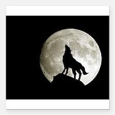 "wolf8.jpg Square Car Magnet 3"" x 3"""