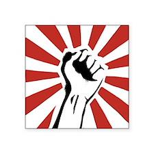 "Revolutionist.jpg Square Sticker 3"" x 3"""
