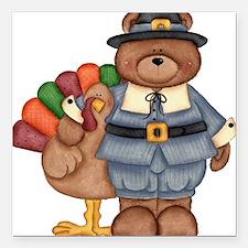 "thanksgiving.jpg Square Car Magnet 3"" x 3"""