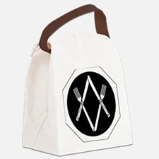 forkknife.gif Canvas Lunch Bag