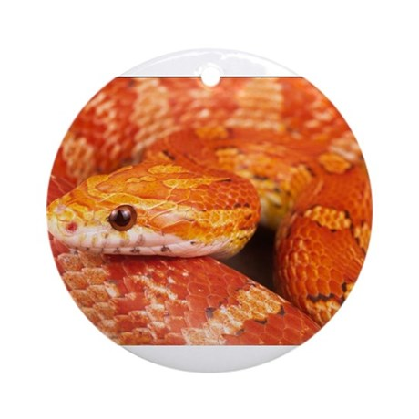 Corn Snake Ornament (Round)