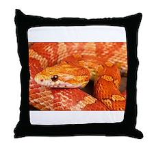 Corn Snake Throw Pillow