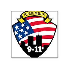 """9-11Icon.jpg Square Sticker 3"""" x 3"""""""
