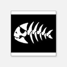 "jollyfish.jpg Square Sticker 3"" x 3"""