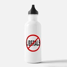 Anti / No Liberals Water Bottle