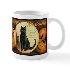 Vintage Merry Halloween Mug