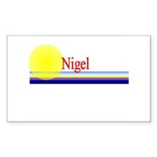 Nigel Rectangle Decal