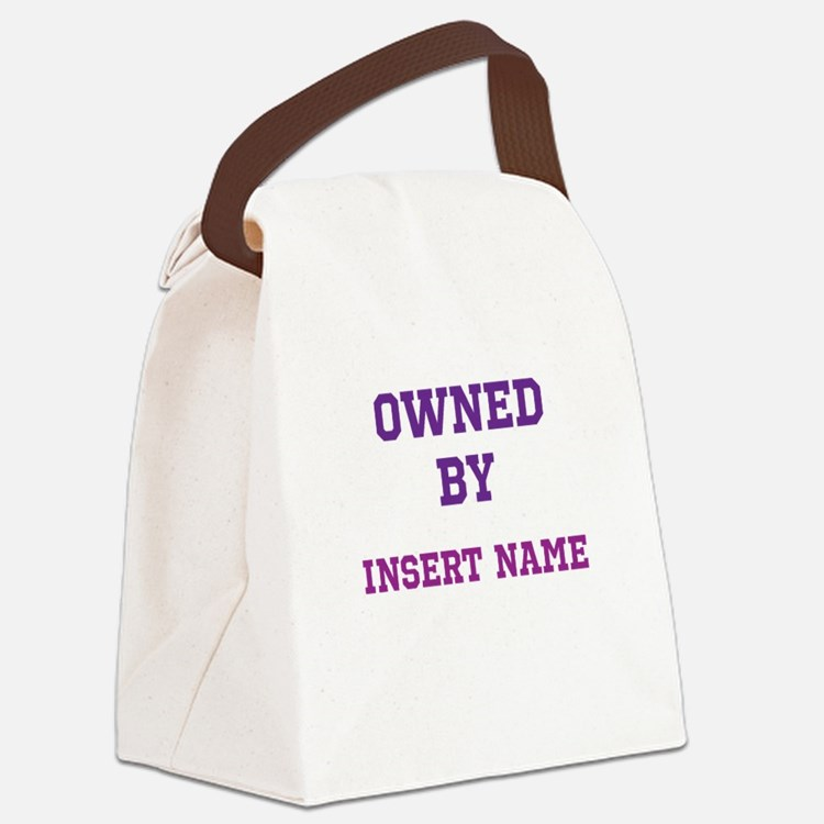 Customized Owned Canvas Lunch Bag
