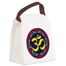 OmSymbol.jpg Canvas Lunch Bag
