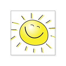 "sunshine.jpg Square Sticker 3"" x 3"""