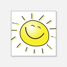 "sunshine.jpg Square Sticker 3"" x 3"""