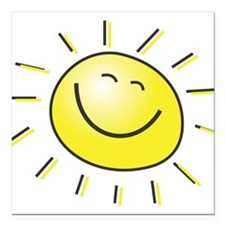 "sunshine.jpg Square Car Magnet 3"" x 3"""