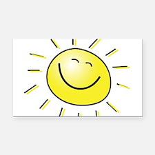 sunshine.jpg Rectangle Car Magnet