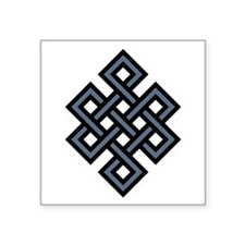 "eternal-knot.jpg Square Sticker 3"" x 3"""