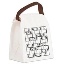 BeginnerPuzzle.png Canvas Lunch Bag