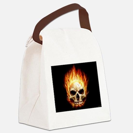 Scorching_Headache_by_waste84.jpg Canvas Lunch Bag