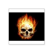 Scorching_Headache_by_waste84.jpg Square Sticker 3