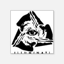 "illuminati21.jpg Square Sticker 3"" x 3"""