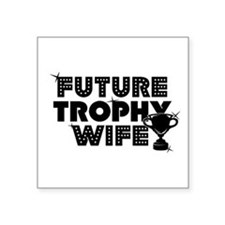 "trophy.jpg Square Sticker 3"" x 3"""