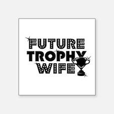 "trophy.jpg Square Sticker 3"" x 3"""