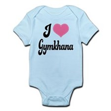 I Love Gymkhana Infant Bodysuit