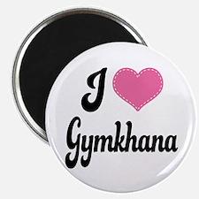 I Love Gymkhana Magnet
