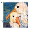 Seagulls Bathroom Shower Curtain