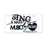 Christian music License Plates