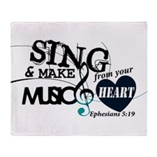 Sing4Christ Throw Blanket
