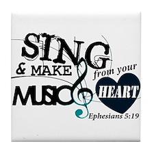 Sing4Christ Tile Coaster