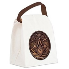 masoncoin.png Canvas Lunch Bag