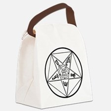 OES-BW.gif Canvas Lunch Bag