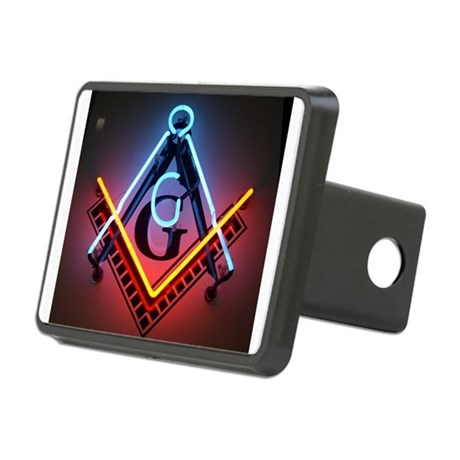 neon-square.jpg Rectangular Hitch Cover